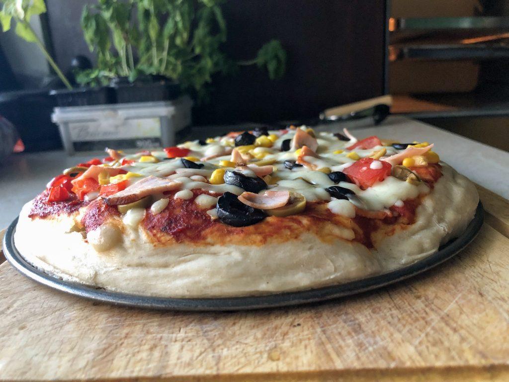 Przepis na najlepszą pizzę upieczona