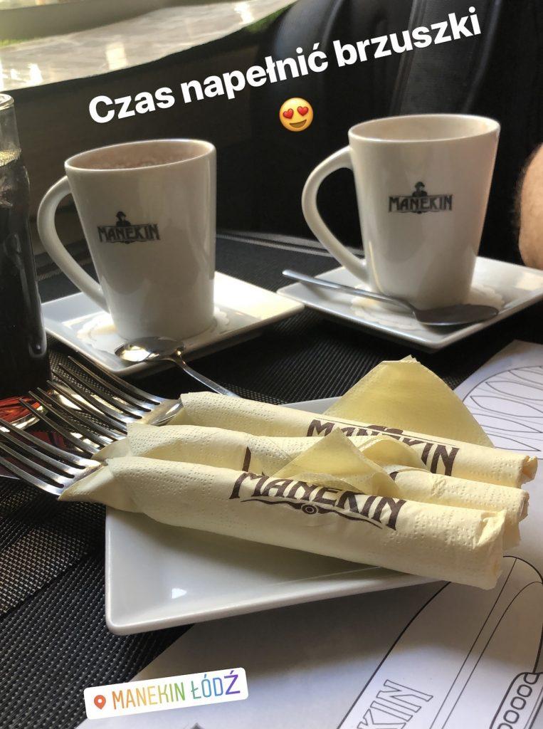 Manekin Łódź kakao