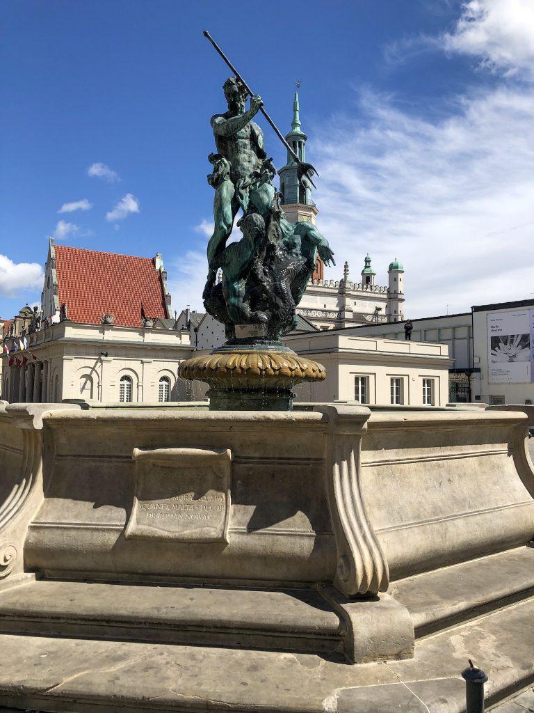 Poznań Pomnik Neptuna