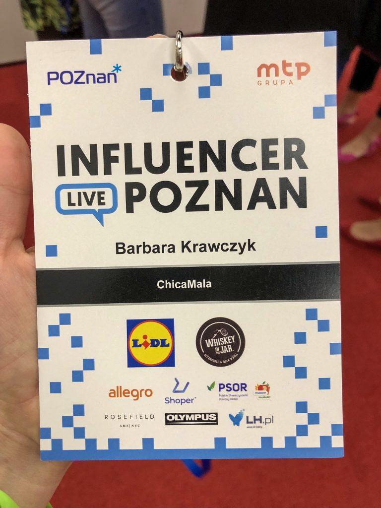 Influencer Live Poznań identyfikator