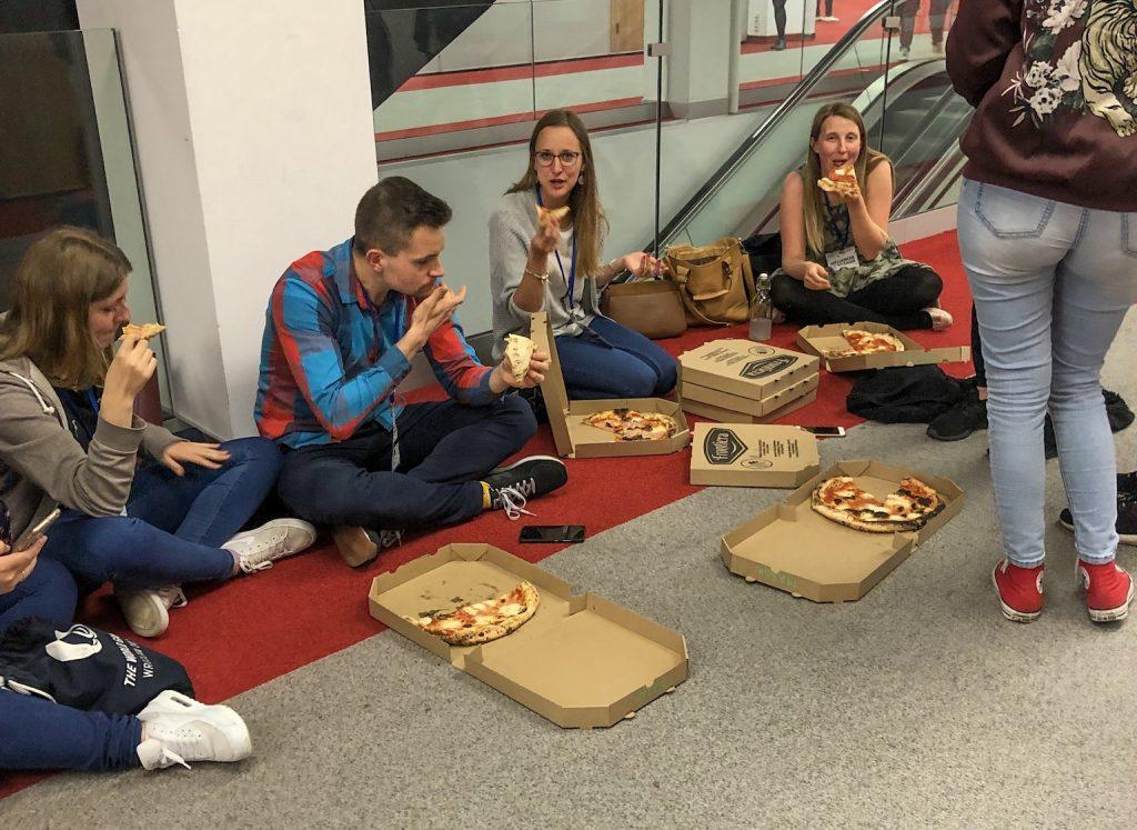 Influencer Live Poznań Pizza