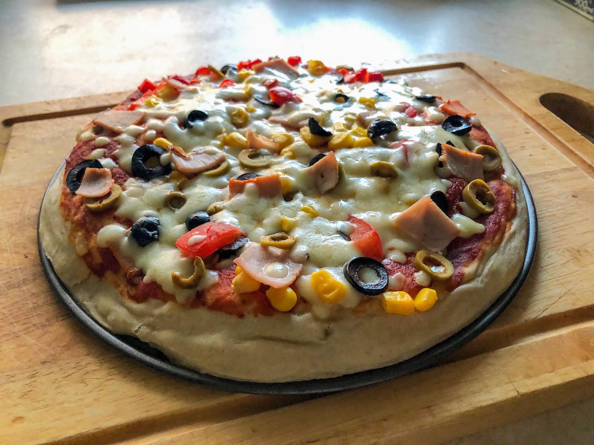 Przepis na najlepszą pizzę cover
