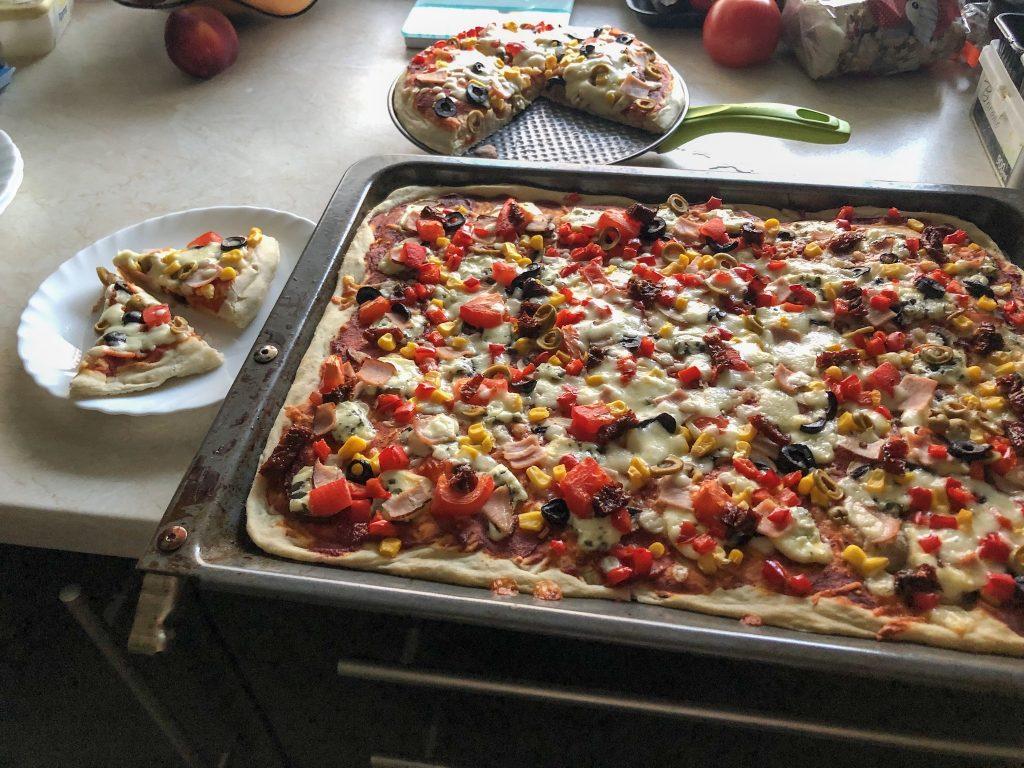 Przepis na najlepszą pizzę gotowa